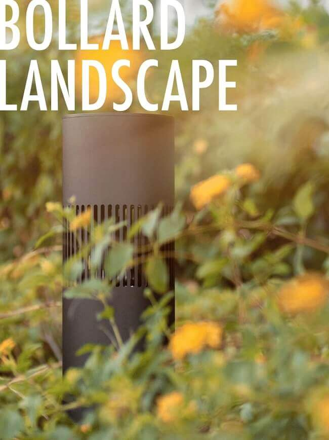 Bollard Landscape Speakers