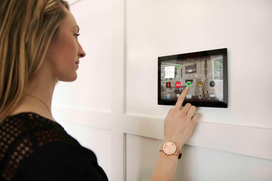 Control4 Home Automation Interface