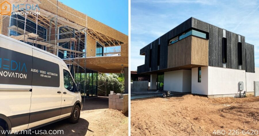 Our Home on Orange Blossom in Arcadia, AZ is Getting Ready to Finish